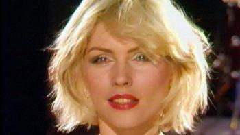 Blondie en primer plano