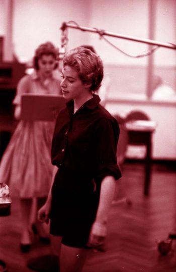 Carole King ensayando una vez más