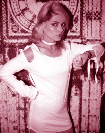 Debbie Harry con buen perfil
