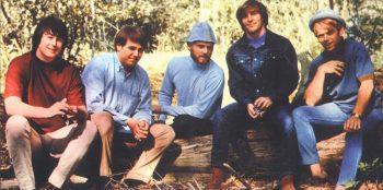 The Beach Boys entre troncos, tan amigos