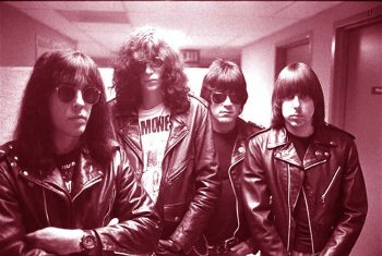 The Ramones agrupados