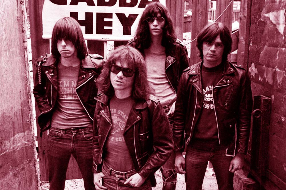 an analysis of the creation of the ramones punk band