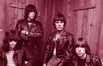 The Ramones en pose
