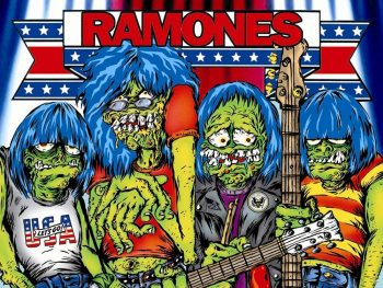 The Ramones... unos monstruos?