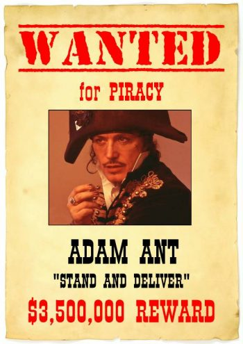 Stand and Deliver - Adam Ant