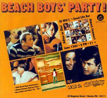 ¡La fiesta de los Chicos de la Playa!