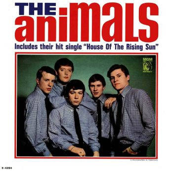 "The Animals y su gran hit ""House Of The Rising Sun"""