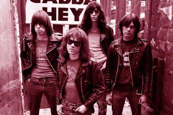 The Ramones en el callejón