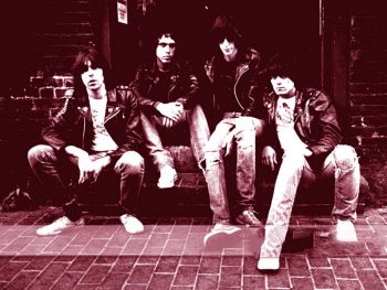 The Ramones en la calle